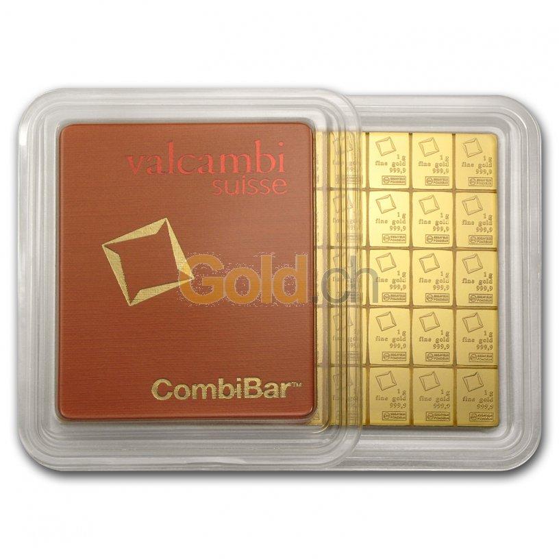 Goldtafelbarren 50 x 1 Gramm - zugeklappt