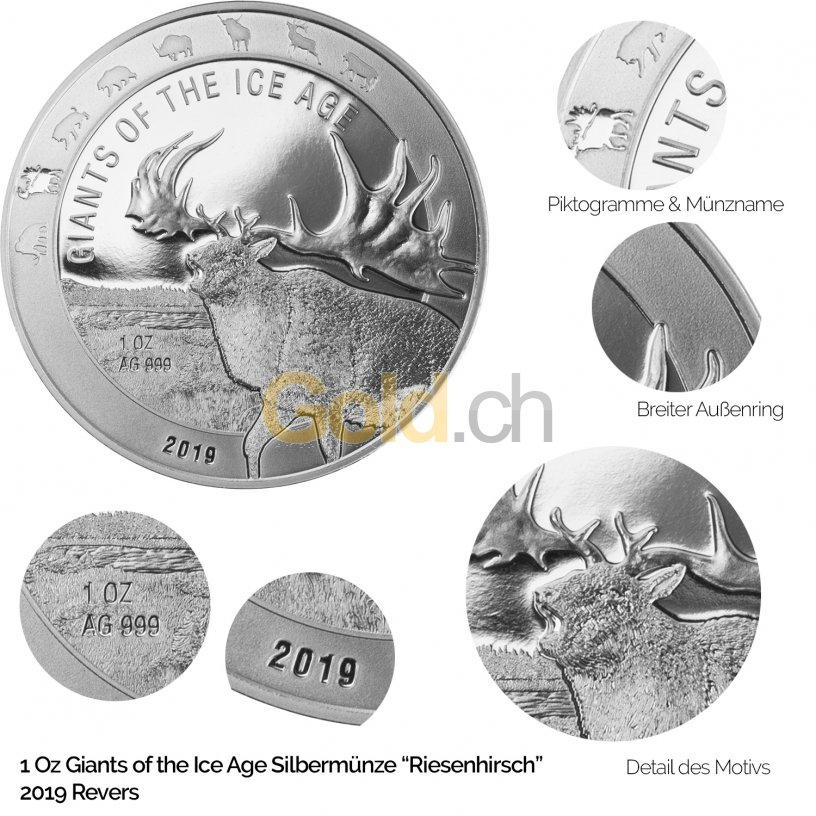 Revers Giants of the Ice Age: Riesenhirsch 2019
