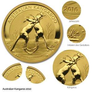 Australian Kangaroo Gold 2010