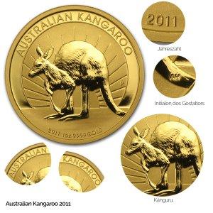 Australian Kangaroo Gold 2011
