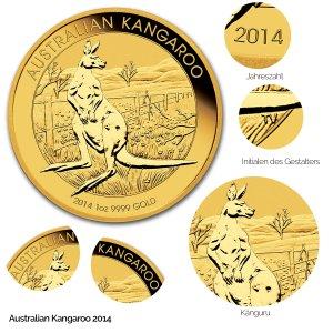 Australian Kangaroo Gold 2014