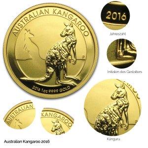 Australian Kangaroo Gold 2016