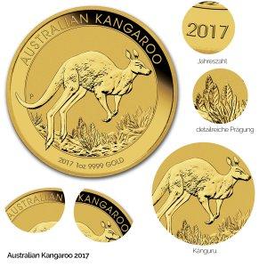 Australian Kangaroo Gold 2017