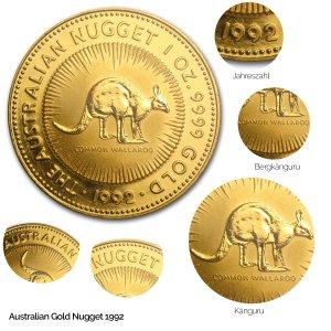 Australian Nugget Gold 1992