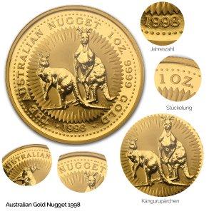 Australian Nugget Gold 1998