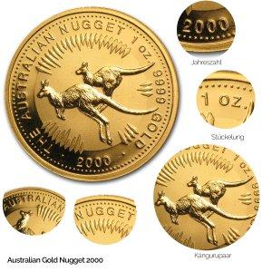 Australian Nugget Gold 2000