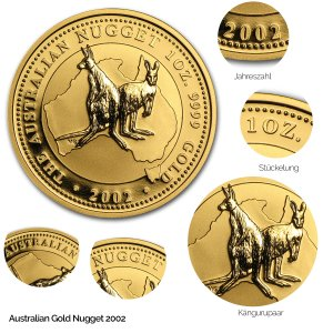 Australian Nugget Gold 2002