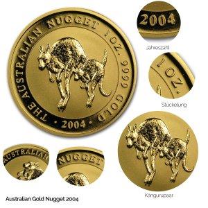 Australian Nugget Gold 2004