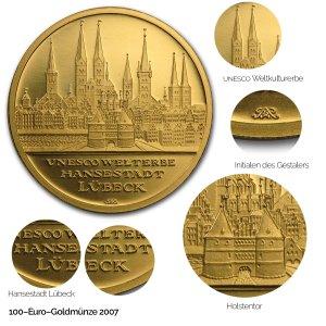 2007 UNESCO Welterbe – Lübeck - Revers