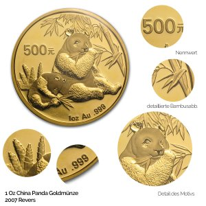China Panda Gold 2007