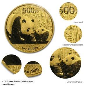 China Panda Gold 2011