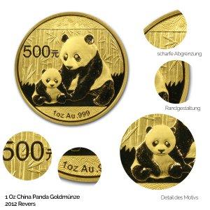 China Panda Gold 2012