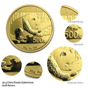 China Panda Gold 2016