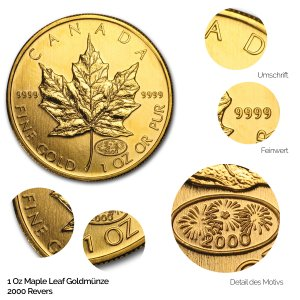 Maple Leaf Gold Revers 2000