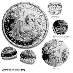 Britannia Silber 1997