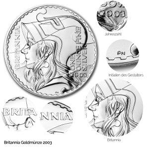 Britannia Silber 2003