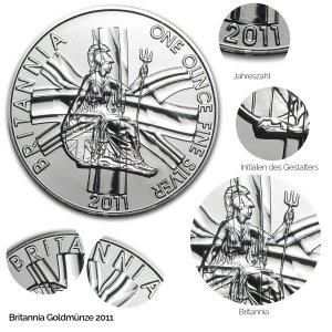 Britannia Silber 2011