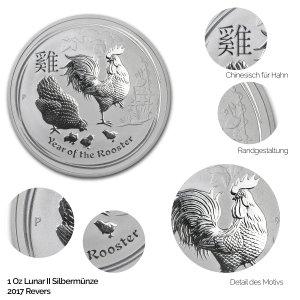Lunar 2017: Jahr des Hahns