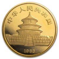 China Panda Gold Avers 1983