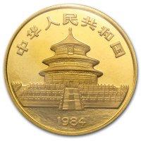 China Panda Gold Avers 1984