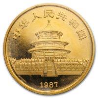 China Panda Gold Avers 1987
