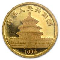 China Panda Gold Avers 1990