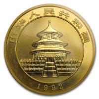 China Panda Gold Avers 1992