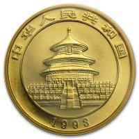 China Panda Gold Avers 1993