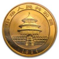 China Panda Gold Avers 1994