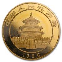 China Panda Gold Avers 1996