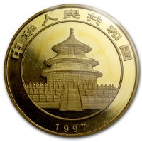 China Panda Gold Avers 1997