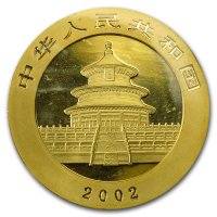 China Panda Gold Avers 2002