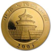 China Panda Gold Avers 2005
