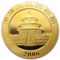 China Panda Gold Avers 2006