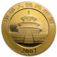 China Panda Gold Avers 2007