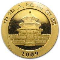 China Panda Gold Avers 2009