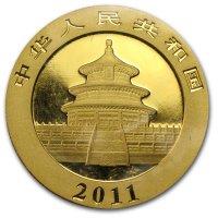 China Panda Gold Avers 2011