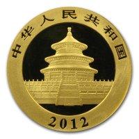China Panda Gold Avers 2012