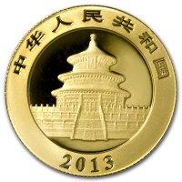 China Panda Gold Avers 2013