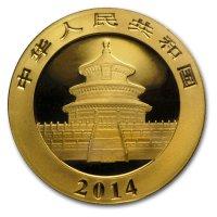 China Panda Gold Avers 2014