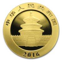 China Panda Gold Avers 2016