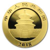 China Panda Gold Avers 2018