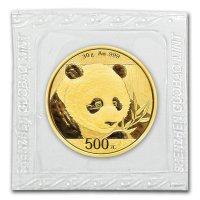 China Panda Gold in Folie
