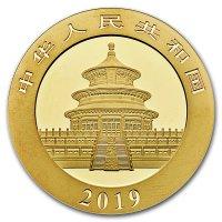 China Panda Gold Avers 2019