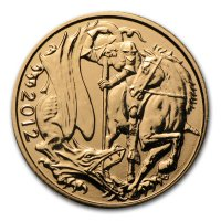Gold Sovereign von 2012 - Elisabeth II - Revers